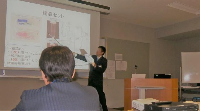 写真:模擬講義