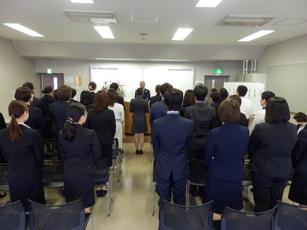 写真:5月1日開講式
