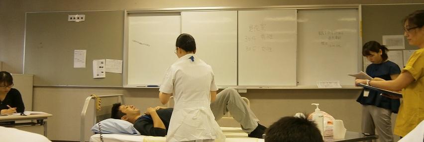写真:看護学教育評価演習