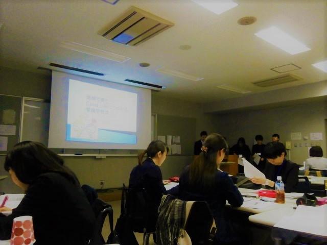 写真:看護教育課程演習発表