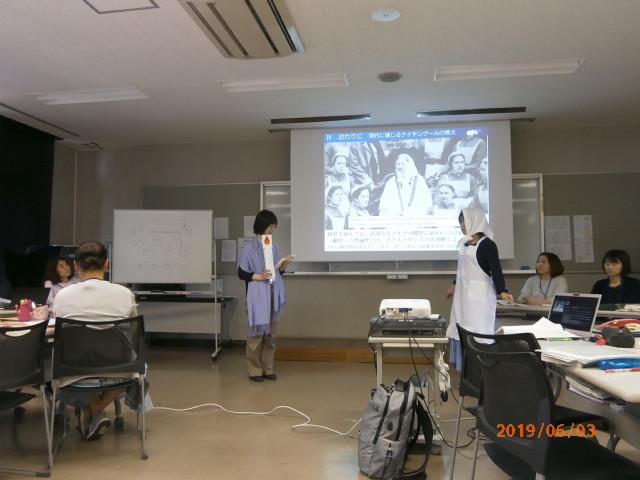 写真:看護論演習発表6月3日(月)