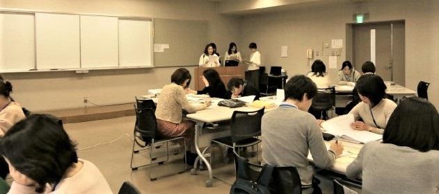 写真:看護学教育評価演習発表