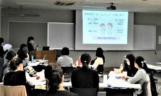 写真:看護学教育実習
